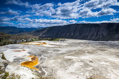 Mammoth Hot Springs, Yellowstone National Park Royalty Free Stock Image