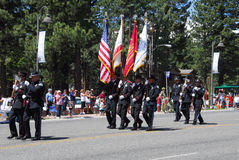 MAMMOTH LAKES, CA/USA - JULY 4 2011: Independence Stock Image