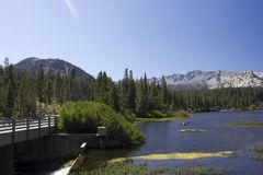 Mammoth Lakes, California Royalty Free Stock Photos