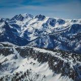 Mammoth Mountain Arkivfoton