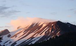 Mammoth Mountain soluppgång Royaltyfria Bilder