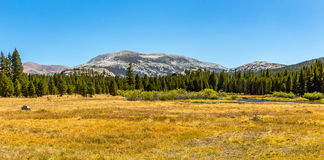 Mammoth Peak from Dana Fork Royalty Free Stock Image