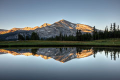 Free Mammoth Peak Sunrise Reflection Stock Photography - 32541852