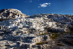 Mammoth Spring. Geological formations in Mammoth Spring, Yellowstone National Park Stock Image