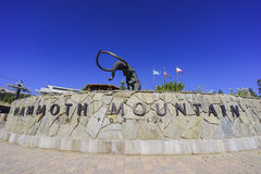 The mammoth statue in Mammoth Lake Royalty Free Stock Image