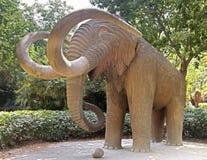 Mammoth statue Royalty Free Stock Photos