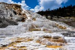 Mammoth Terraces, Yellowstone National Park, Wyoming, USA Stock Photo