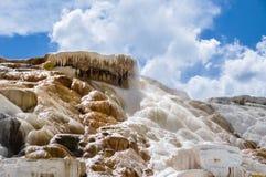 Mammoth Terraces, Yellowstone National Park, Wyoming, USA Royalty Free Stock Photos