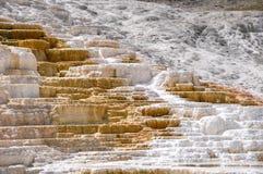 Mammoth Terraces, Yellowstone National Park, Wyoming, USA Stock Image