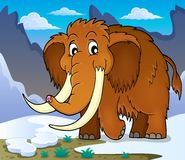 Mammoth theme image 1 Royalty Free Stock Photo