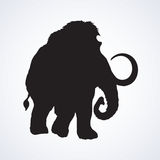Mammoth. Vector drawing Royalty Free Stock Photo