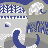 Mammut di inverno Fotografia Stock Libera da Diritti