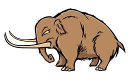 Mammut lanoso illustrazione vettoriale