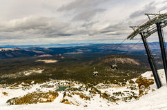 Mammut-Ski Resort Stockbild