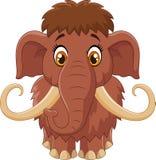 Mammut sveglio del fumetto Fotografia Stock