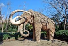Mammut von Barcelona Stockbild