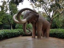 Mammutskulptur in einem Park stockfoto
