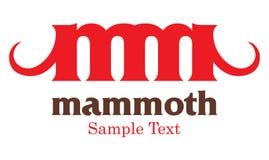 Mammutzeichen Stockbilder