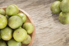 Mamoncillo delicious tropical fruit. Fruit that provides interesting nutritional properties in a balanced and healthy diet Stock Images