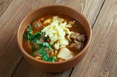 Mampar Uighur soup Stock Images