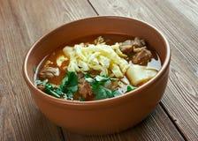 Mampar Uighur soup Stock Photography