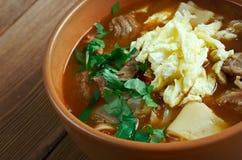 Mampar Uighur soup Stock Photo