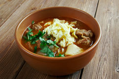 Mampar Uighur soup Royalty Free Stock Image