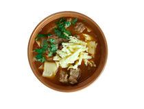 Mampar Uighur soup Stock Photo