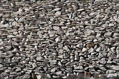 Mampostería seca en la costa de Adriático del croata Imagen de archivo libre de regalías