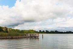 Mamry sjö Royaltyfria Bilder