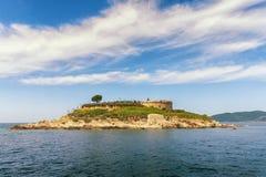Mamula island. Montenegro Royalty Free Stock Photos