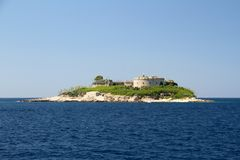 Mamula Montenegro Stock Photography