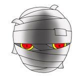 Mamusi halloweenowa Głowa ilustracji