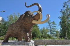 Mamut del monumento Imagen de archivo