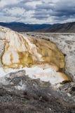 mamut skacze Yellowstone gorące Obrazy Royalty Free
