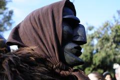 mamuthones maskują zwany typowego Fotografia Stock