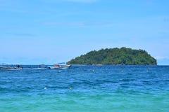 Mamutik wyspa w Sabah, Malezja Zdjęcie Stock