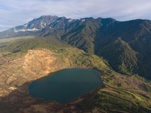 Mamutkuiper Mine Sabah stock afbeelding