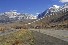 Mamutowi jeziora, sierra Nevada góry, Kalifornia fotografia royalty free