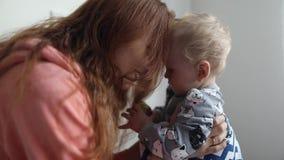 Mamy i dziecka sztuka wpólnie zdjęcie wideo