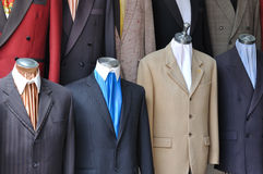 Man�s suit Royalty Free Stock Photos