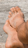 Man´s Feet Stock Photos