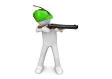 Manías - apuntar al cazador Imagen de archivo libre de regalías
