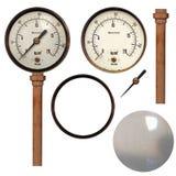 Manómetro Fotografía de archivo libre de regalías
