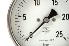 Manómetro Imagen de archivo libre de regalías