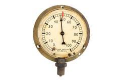 Manómetro de dos presiones Fotos de archivo