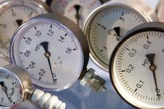 Manómetros foto de stock royalty free