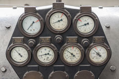 manómetros Foto de archivo