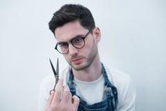 Man& x27; забота тела s волосы Само-дизайна Стоковая Фотография RF