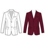 Man& x27; куртка застегнутая s Стоковое Изображение RF